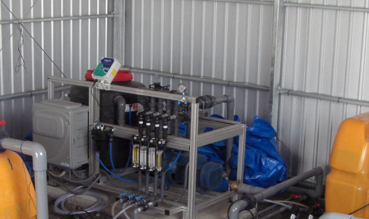 栽培システム「ガリレオ」設置