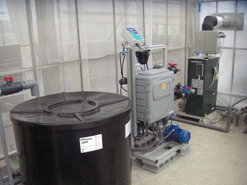 栽培システム「ガリレオ」設置 - 吉田農材 - 施工事例